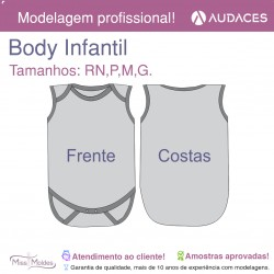 Body Regata Infantil (Impresso)